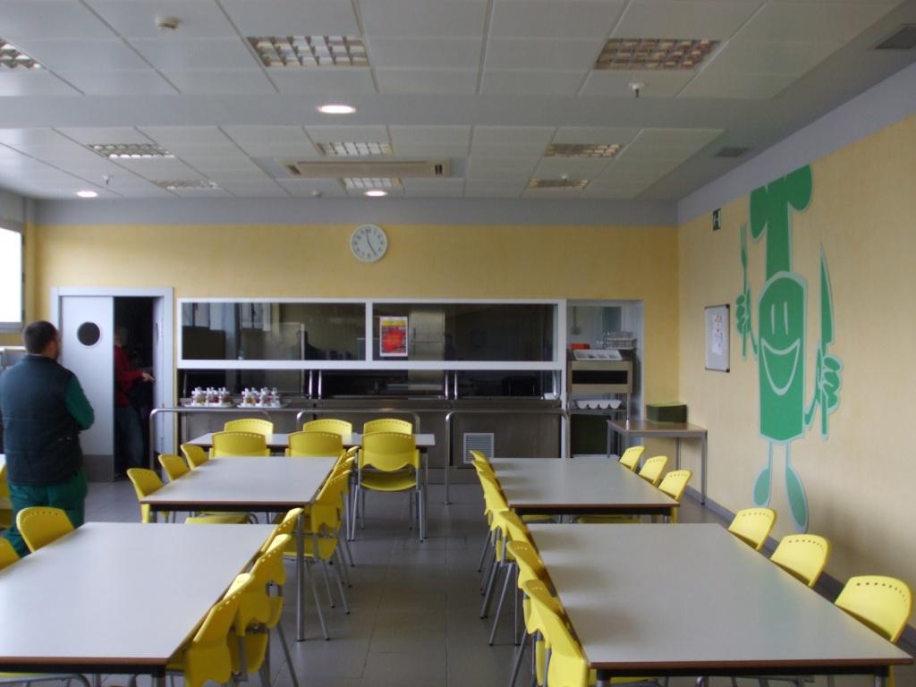 Comedor colectivo sabeco inproin for Proyecto comedor industrial